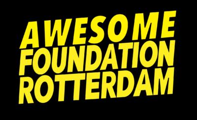 Logo Awesome Foundation Rotterdam